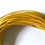 20 AWG Yellow Wire 1mtr