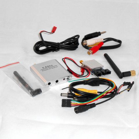 FPV Kit 5.8G 200mW A/V Tx/Rx System with Sony CCD 420TVL Camera