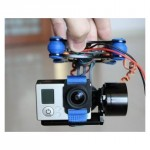 2 Axis Brushless Camera Gimbal w/Motors & Controller