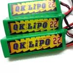 QK NanoTech 2200mah 35C 11.1V LiPo