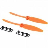 5030 GemFan 2 Blade Orange