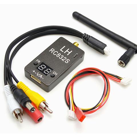Mini 5.8G 32CH AV Receiver LH-RC832S Mini RC832