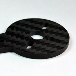 X525 Carbon Fiber Spare Motor Mounts