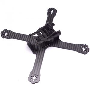 QAV-X 210 Cross FPV Racing Frame With 4mm Arms