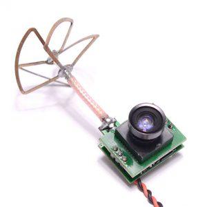 1000TVL Camera with 25mW 5G8 48CH Transmitter