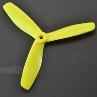 DALPROP T5045 V2 3 Blade Yellow Propeller