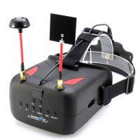 Eachine VR D2 40CH Raceband 5.8G Diversity FPV Goggles With DVR