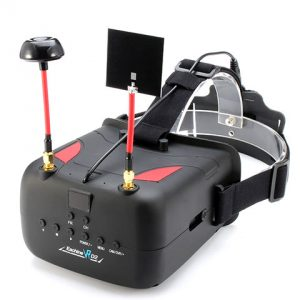 Eachine VR D2 40CH Raceband 5.8G Diversity FPV Goggles With DVR
