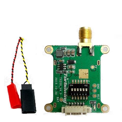 Turbowing TX200 5 8G 20mW/200mW 40CH Transmitter   QuadKopters