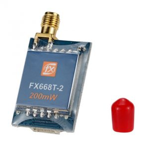 FX668T-2 5.8G 200mW 40CH Wireless AV Transmitter