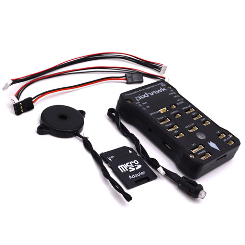 Pixhawk PX4 2 4 8 with Safety Switch and Buzzer 16GB SD | QuadKopters