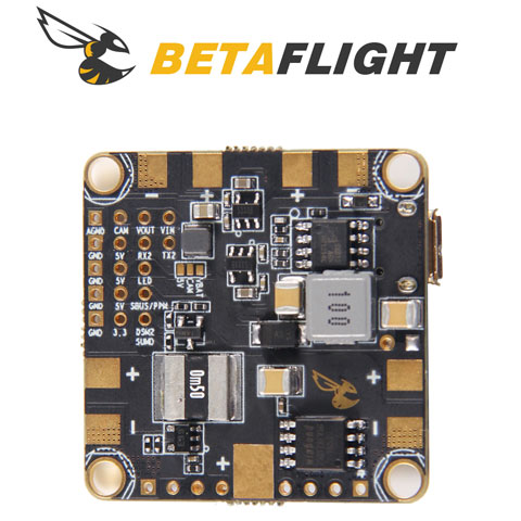 BetaFlight F4 Flight Controller with PDB and OSD
