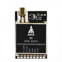 AKK X2MX 5.8Ghz 40CH Switchable vTX with Pigtail and SA