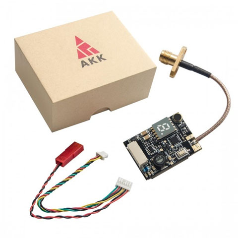 AKK X2P 5.8Ghz 40CH Switchable vTX with Pigtail and SA