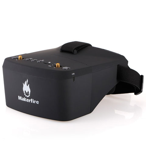 Makerfire EV800D 5.8G 40CH with diversity receiver and DVR and carry bag