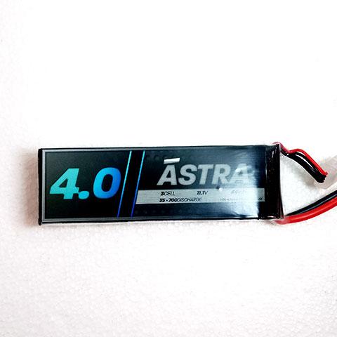 Ástra 11.1V 4000mah 35C Lipo