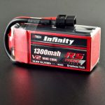 Infinity 1300mah 14.8V 100C 4S1P RS Force Edition V2