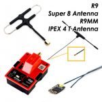 FrSky R9M Module+R9MM Receiver with Super 8 & T Antenna