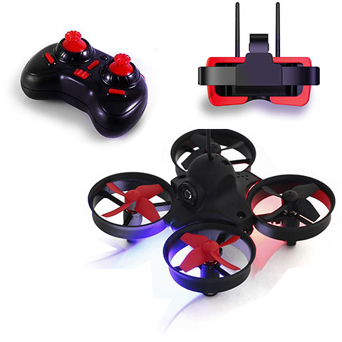 Micro FPV Brushed Drone Kit with Goggles