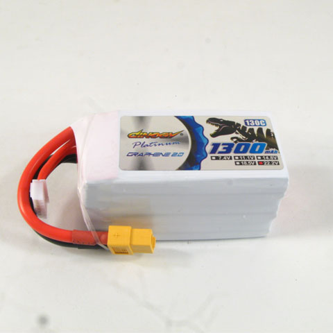 DINOGY PLATINUM GRAPHENE 2.0 6S-1300mAh 130C LIPO BATTERY