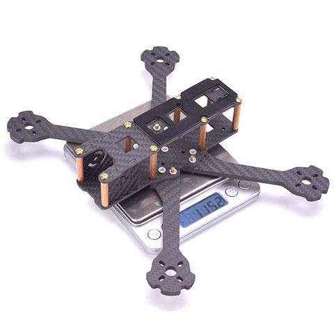 QAV-R II 5inch 220mm Freestyle Quadcopter Frame